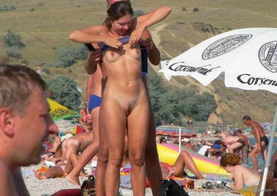 Голые нудисты на пляже это не только обнаженная киска, шикарная попка и пре