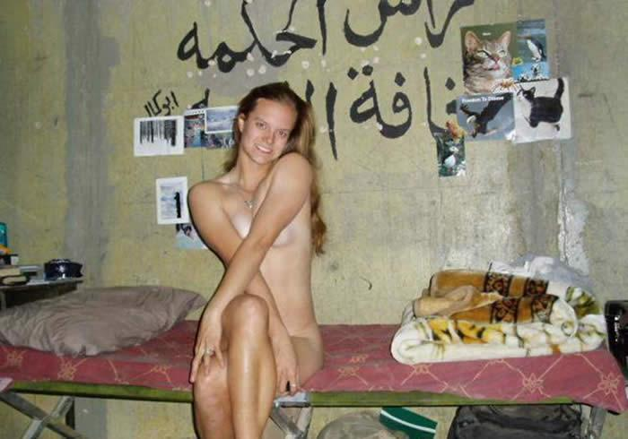 Sexy army girl in iraq from west virginia