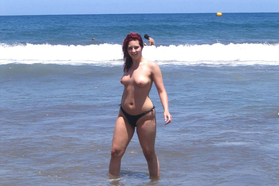 Nude mature beach holiday