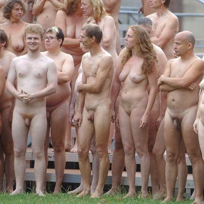 Tunick group nudes spencer