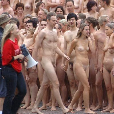 Spencer tunick naked people