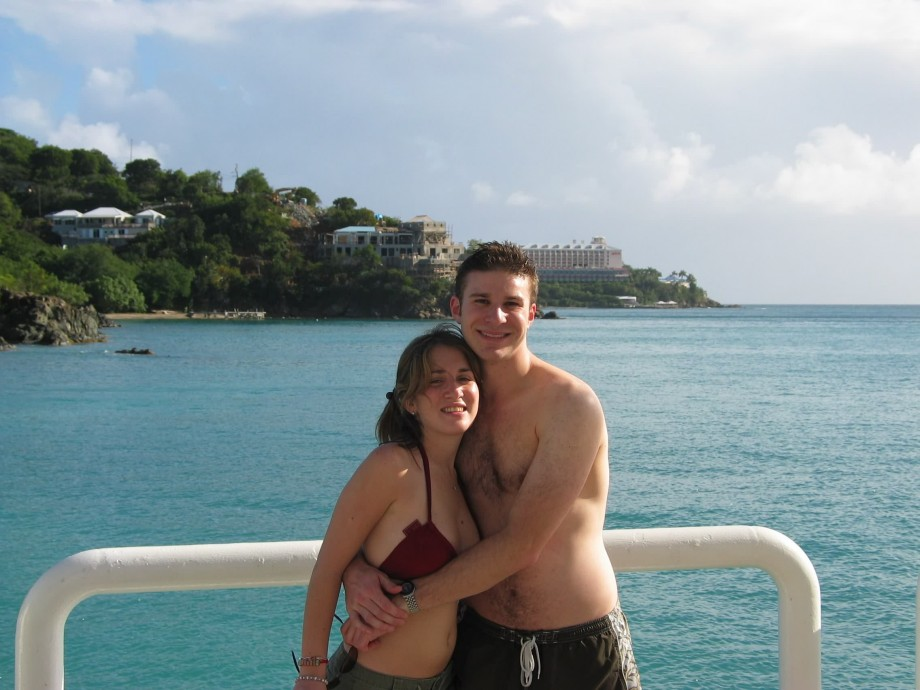 Couple in Holiday on Cruise Ship BJ, suck n tits TOP ...