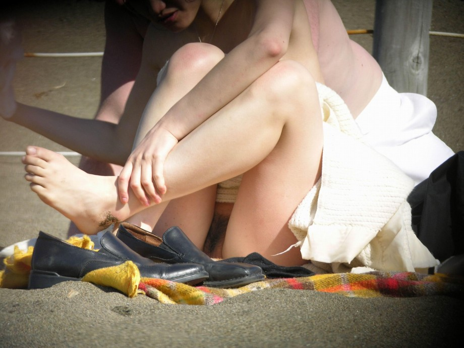 Closeups nudist voyeur