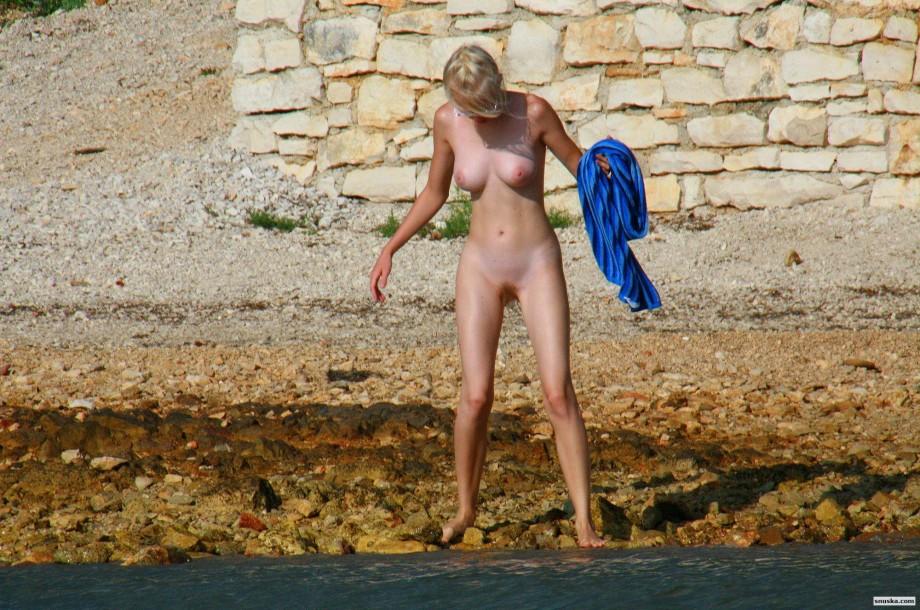 Young danish nudists