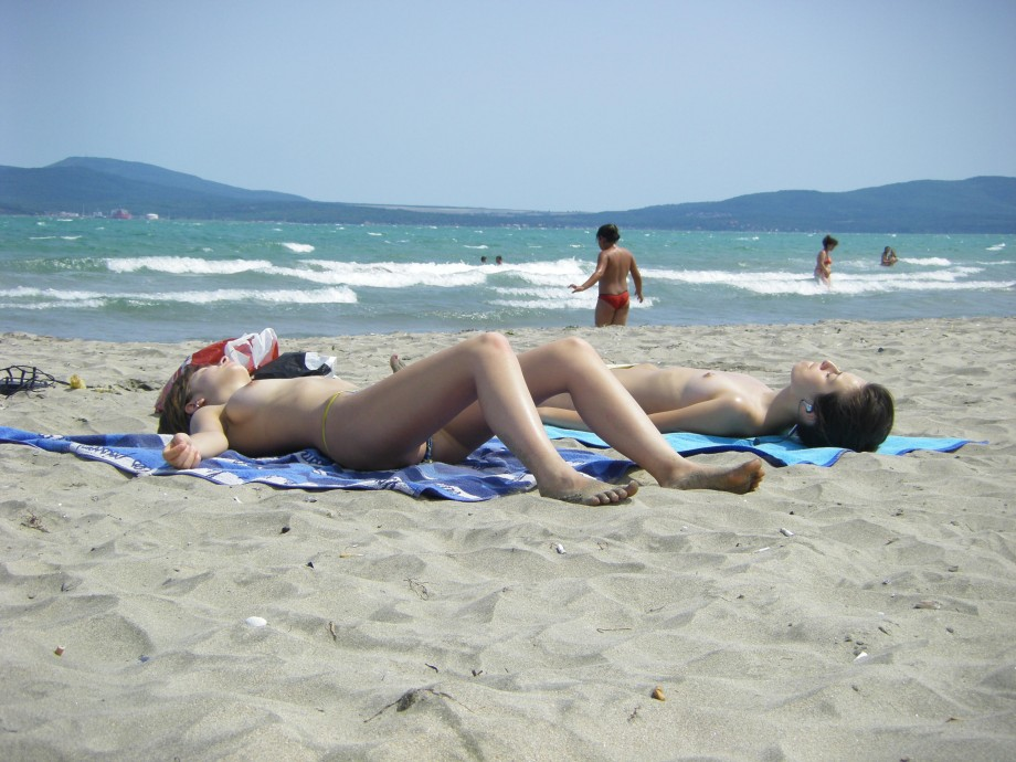 TEEN ON NUDIST BEACH SET Young Teen Girl FKK 8