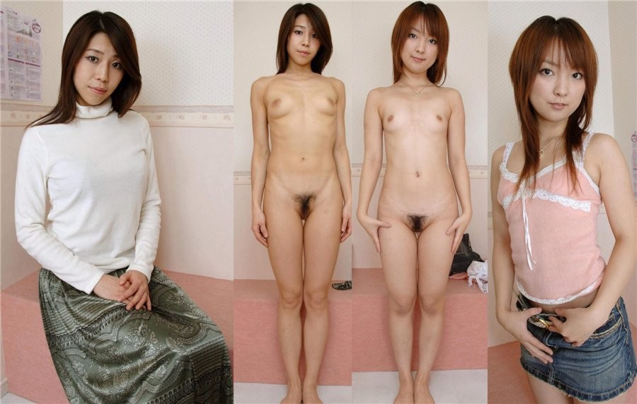 undress Asian naked dress