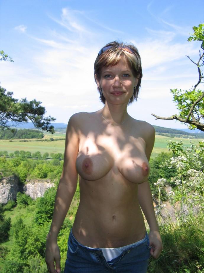 Busty amateur Czech beauty  TOP