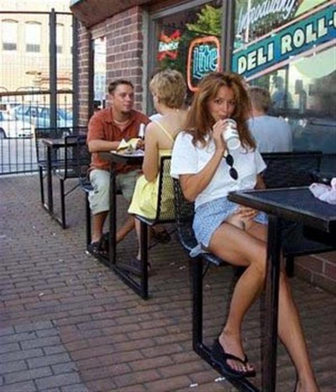 Naked Girls Public Places