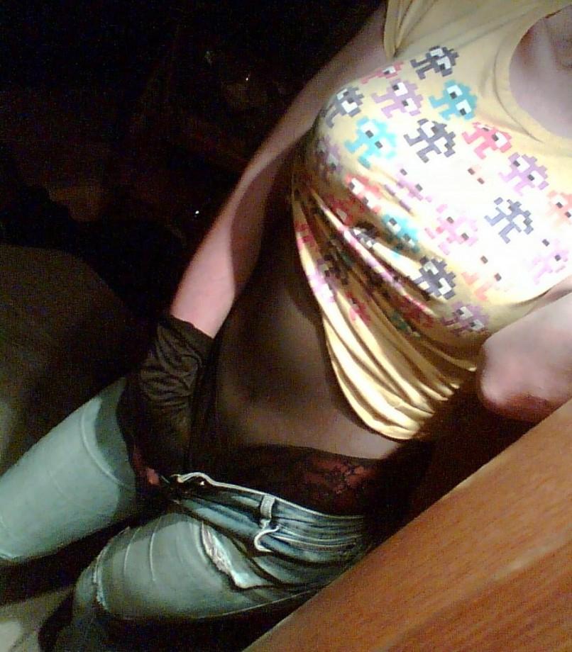 Meine – Schlampe – Anna – In engen Jeans TOP