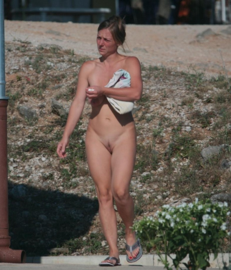 camp girls shower Nudist