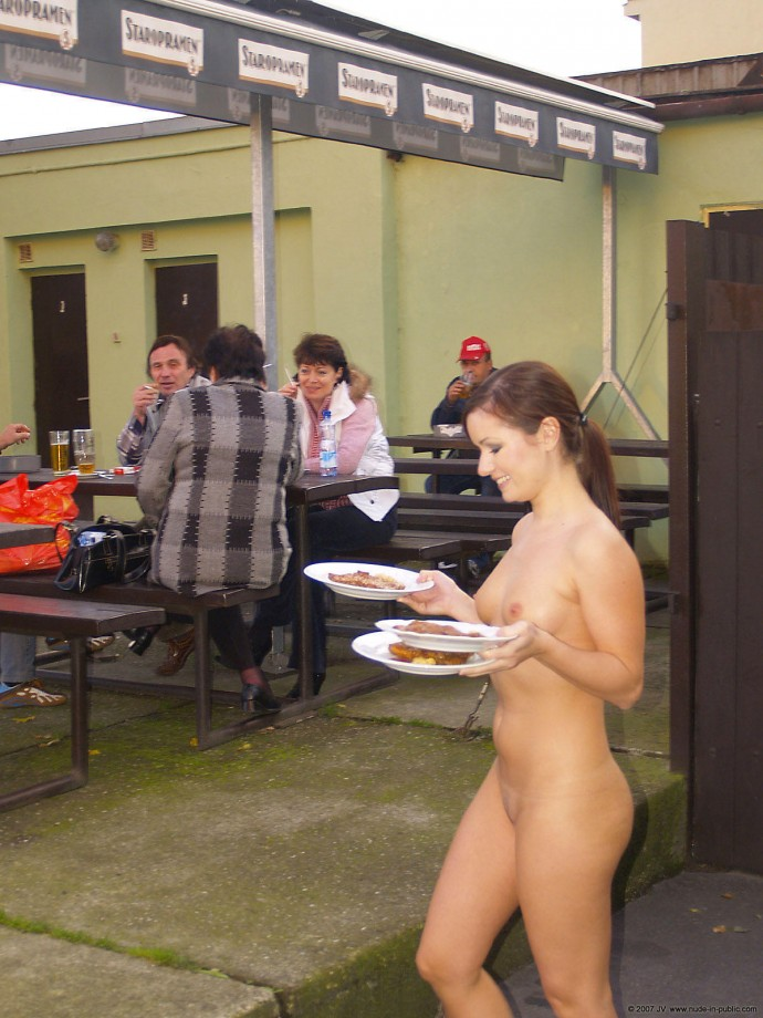 Naked Woman At Work 106