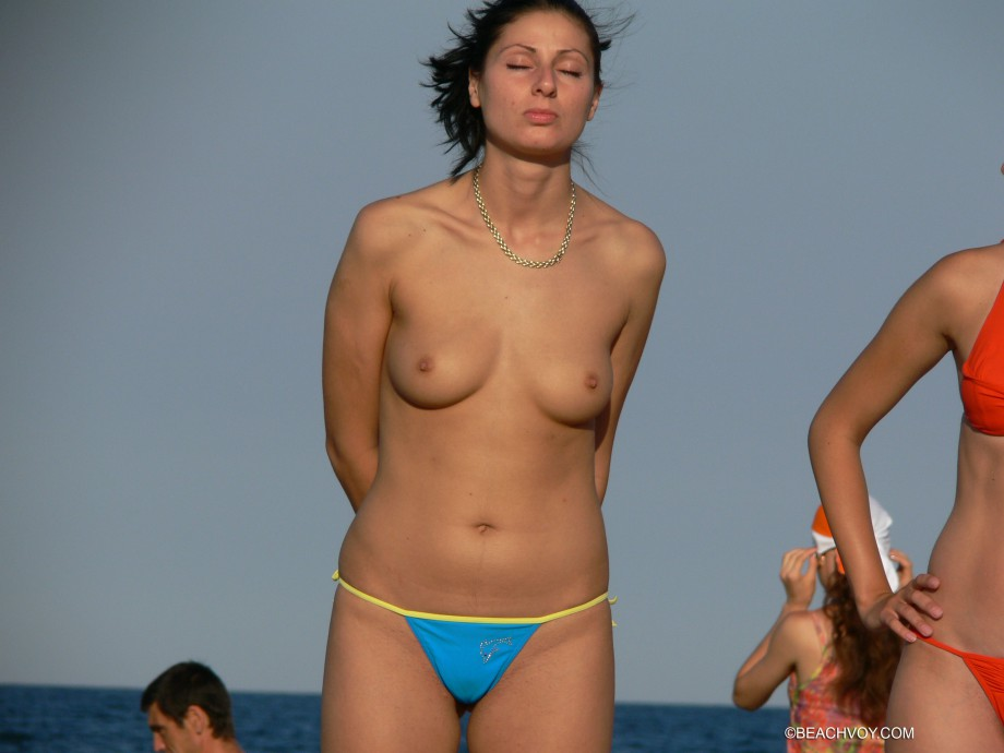 Topless Girls on the Beach – 260