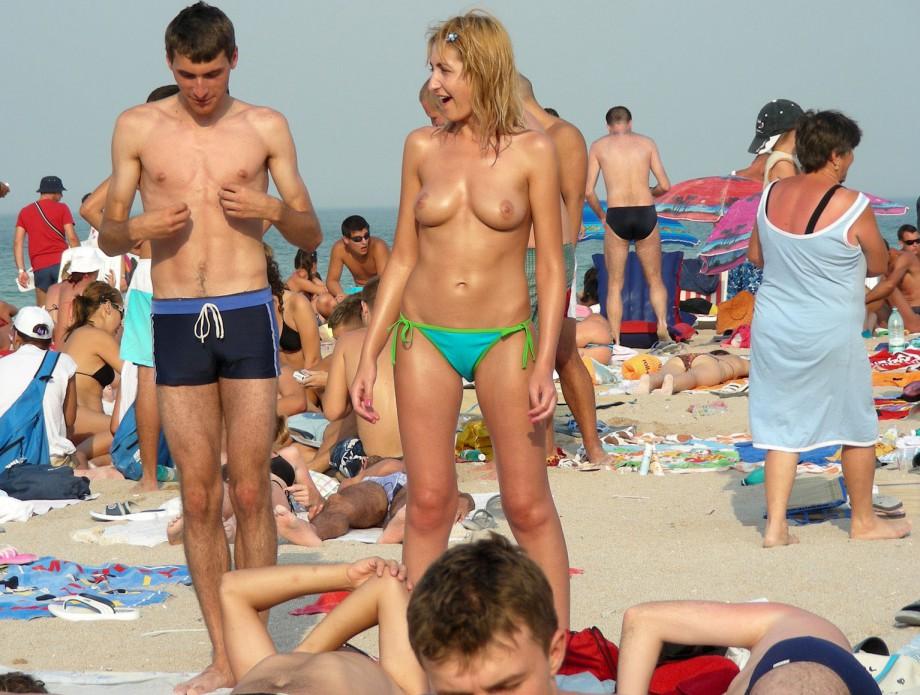 Bussy on the beach naked speak