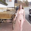 Naked girl at public 01