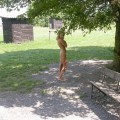Naked girl at public 03