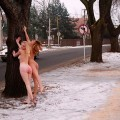 Naked girl at public 06