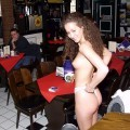Naked girl at public 13