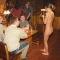 Naked girl at public 19