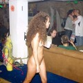 Naked girl at public 17