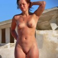 Beach girl - nudist