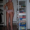 Homemade - young teen showing all