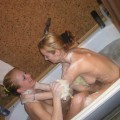 Homemade - lesbian couple big set