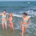 Ninfetas Nuas na Praia