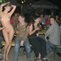 Young girls flashing at party