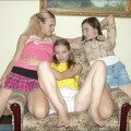 Secret! 3 young girls fun at home