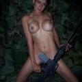 Army naked girl 6116374