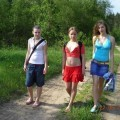 3 teens on a lake amateur set-89540