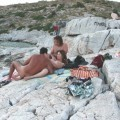 Fucking at nudist beach (from greece) -51215