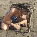 Charlotte naked on the beach -39793