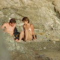 Fucking couple on nudist beach-67905