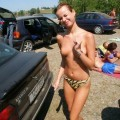 Summer near the rivers, lake.. - topless pics