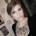 Nonude tattooed girl