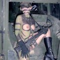 Amateur army girl in iraq