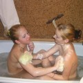 Two young teen lesbians #7