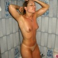 Amateur girls in shower