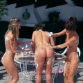 3 girls naked party