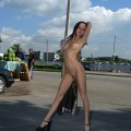 Nude in public (set) 87