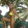 Blond amateur girl - holiday pics