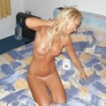 Perfect body amateur blond - holiday pics