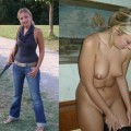 Ex girlfriends dressed undressed