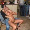 A girl at a party 52
