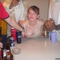 A girl at a party 38