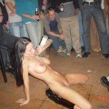 A girl at a party 18
