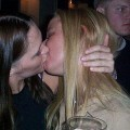 Kissing a girl 1