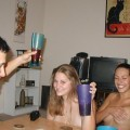 Young girls at party-  drunk teenagers - amateurs pics 19