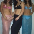 Young amateur spanish teen girl and her friends